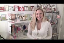 Stampin' up! product video tutorials / by Melissa Davies - bee divine designs