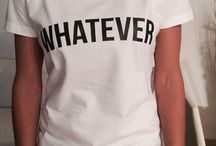 camisetas / Camisetas criativas, com palavras, frases e imagens variadas.