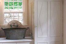 bath/laundry / by Lisa Fotheringham