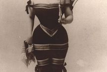 Vintage / Vintage corsets and ads
