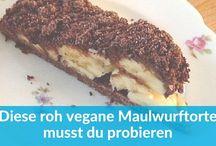 Roh vegane Kuchen