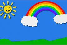 Arcobaleno di COLORI / Luce,  brillantezza,  vita....i colori