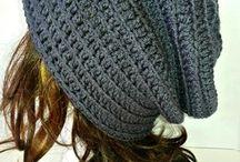 Crocheted beanies