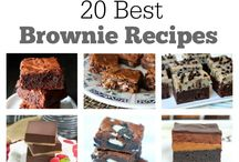 cakes and brownies