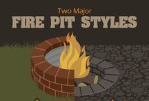 build a round fire pit