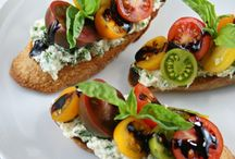 crostini e bruschette