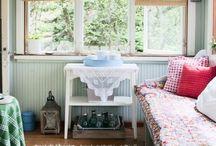 Porch/veranda, vestibule