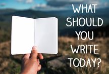 Writing prompts / Here are some fabulous writing prompts