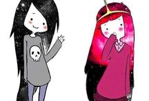 Adventure Time but mostly BUBBLINE