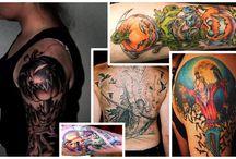 Scary Scarecrow Tattoos / Scary Scarecrow Tattoos