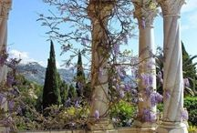 French provence / kind of french and italian provence aesthetics
