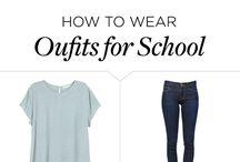 Summer school fashion