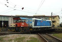 Železnice a technické památky