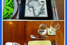 PLACEMATS: Handcrafted Gifts / Placemats; hand crafted and hand decorated by KraftyArtZ; Hand made in Kenya