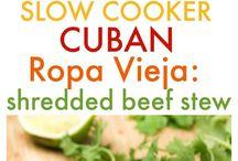 Cuban comida.