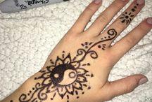 Tattoos sharpie/ink