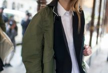 Khaki in the city / Our theme of 2016 Spring Summer