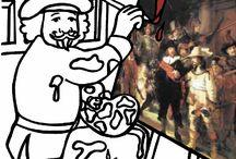Gouden eeuw kleuters