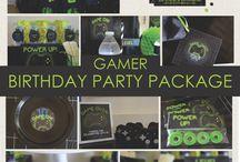 cumpleaños gamer