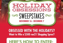 Rue21 Holiday Obsessions Sweepstakes! / by Ashley Turner