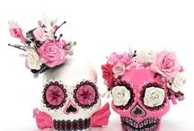 Skull Lover Wedding Cake Topper Art / by madamepOmm BYK