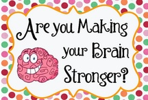 Brain Boosters / by The Cheerful Chalkboard