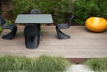 A House - outdoor backyard landscape ideas / by Brandi Hoffman