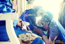 THE WEDDING / Wedding Day in Indonesia traditional culture, especially Javanese.