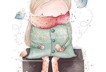 Illustrazioni dolcezza