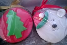 DOLCE NATAL / Um pouco dos produtos que fazemos para deixar seu Natal ainda mais especial. São idéias para presentar amigos queridos, enfeitar sua casa e aguçar o paladar de crianças e adultos nesta época tão linda e gostosa...
