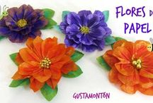 Craft ✂️ Paper & Ribbons - Flowers & Bows