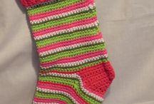 Christmas crochet stuff