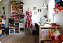 Interior - Sewing room