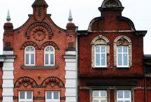 buildings, windows, doors