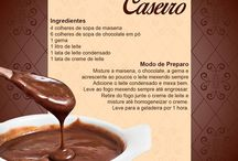 receitas com chocolate