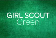 Girl Scout Green / This board features a Girl Scout's favorite color- GREEN! / by Girl Scouts–Arizona Cactus-Pine Council