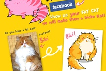 Dicke Katze Contest / Get moving and upload your cats picture for a chance to win a drawing of your cat.