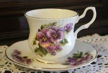 Tea Pots~Tea Cups~Chocolate Pots / by Janet Rollins