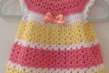 малышами вязание