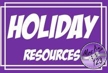 Holidays TPT