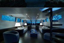 Sous l'eau luxe