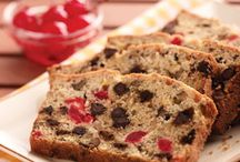 Food = Breads = Muffins = Bread Pudding / Cheese Breads = Quick Breads =  If any, very few Yeast Breads / by Patricia Leafty