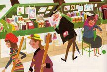 market illustration