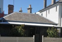 Williamstown Cottage / Recently renovated Williamstown Cottage at 4 Ferguson St, Williamstown, Victoria. (This 2 bedroom cottage was originally a 2 room cottage with a lean-to kitchen).   One of 5 Williamstown homes open to the public as as part of 'Open Williamstown 2016'.   This cottage is also available for rent on a short term stay basis and is managed by the team from Captains Retreat.