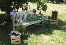 Photo booth in the garden / Angolo photo booth nel parco di Villa Quassa