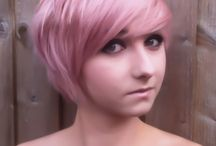 Colors in my hair :D / by Minty Bobbins