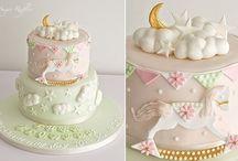 cake baby pastel