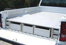 Truck bed slide DIY