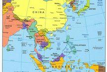 Jihovýchodní Asie / - Jihovýchodní Asie