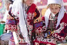 таджикский костюм